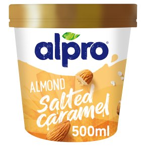 Alpro Almond Salted Caramel Ice Cream
