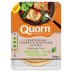 Quorn Turkey & Stuffing Slices