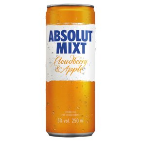 Absolut Cloudberry & Apple