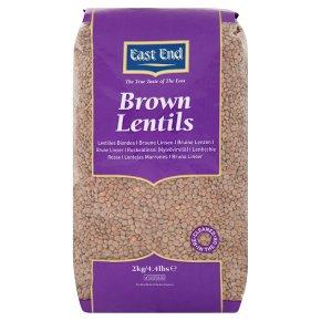 East End brown lentils