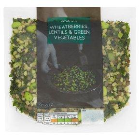 Waitrose Wheatberries lentils & green veg