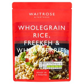 Waitrose Wholegrain Freekeh & Wheatberries