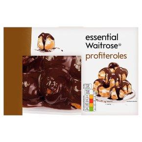 essential Waitrose profiteroles