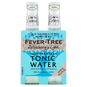Fever-Tree Refreshingly Light Mediterranean Tonic Water 4x200ml