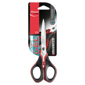 MAPED 17CM ADVANCED GEL SCISSORS