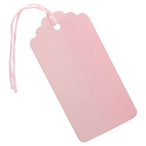 Waitrose Dark Pink tags