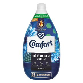 Comfort Intense Fresh Sky Fabric Conditioner, 64 wash