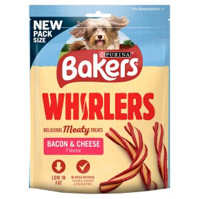 Bakers Whirlers Bacon & Cheese Flavour