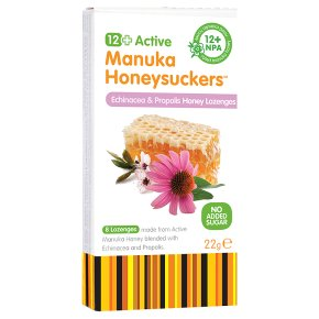 GreenBay 12 manuka echnaced & propolis honeysuckers