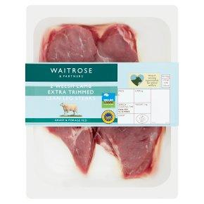 Waitrose Welsh lamb topside leg steaks