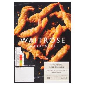 Waitrose Frozen 10 Tempura King Prawns