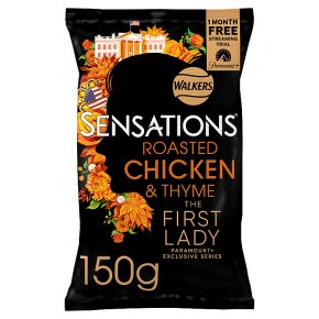 Walkers Sensations roasted chicken & thyme sharing crisps