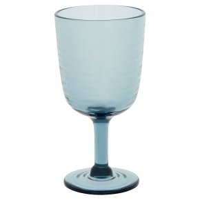 Waitrose Clay Pot Blue Acrylic Goblet