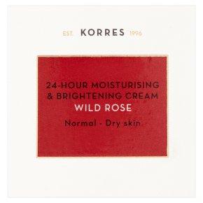 Korres moisturising cream wild rose