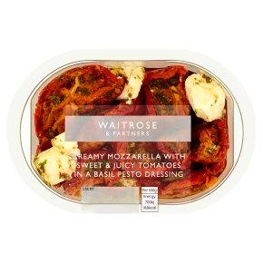 Waitrose semi dried tomatoes, mozzarella & pesto