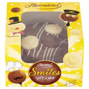 Thornton's smiles gift cake