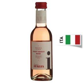 Italia, Pinot Grigio, Rose Wine, Small Bottle