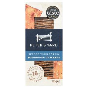 Peter's Yard Seeded Wholegrain Sourdough Crispbread