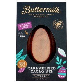 Buttermilk Caramelised Cacao Nib