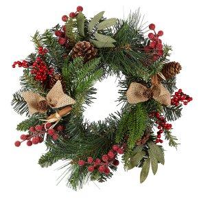 Small Christmas Wreaths.Waitrose Christmas Small Wreath