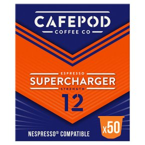 CafePod Coffee Co. Nespresso Capsules Supercharger