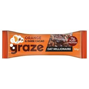 Graze Orange & Cacao Oat Millionaire