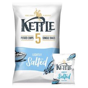 Kettle Chips Lightly Salted Multipack Crisps