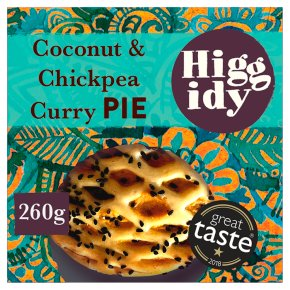 Higgidy Paneer, Coconut & Spiced Chickpea Pie
