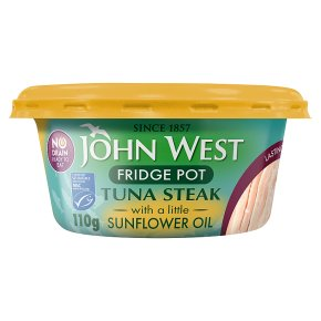 John West MSC No Drain Tuna Steak in Sunflower Oil