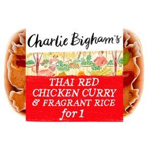 Bigham Thai Red Chicken Curry for 1