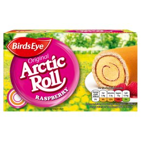 Birds Eye Raspberry Arctic Roll