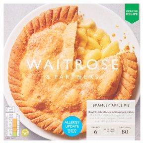 Waitrose Frozen Bramley apple pie