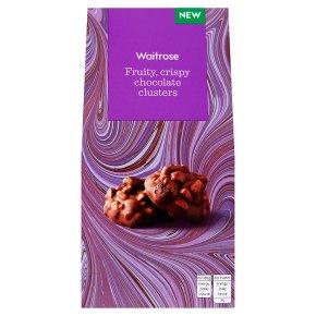 Waitrose Chocolate Cluster