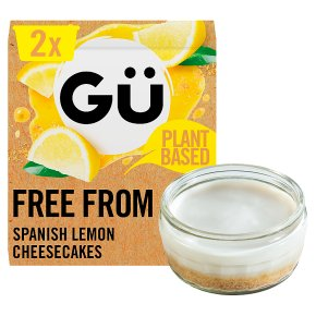 Gü Vegan Spanish Lemon Cheesecakes