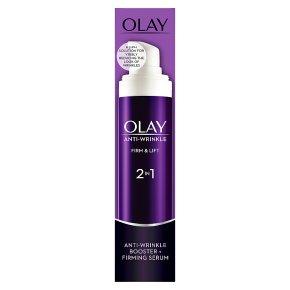 Olay Anti-wrinkle Firm & Lift Moisturiser 2 in 1 Day Cream and Serum