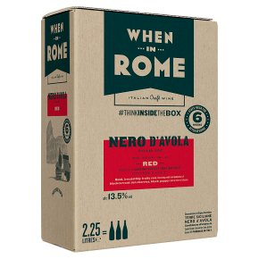 When in Rome Nero d'Avola Siciliy