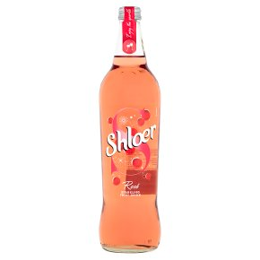 Shloer rose sparkling juice drink