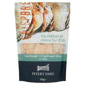 Peter's Yard 5 Seed Sourdough Crispbread Bites