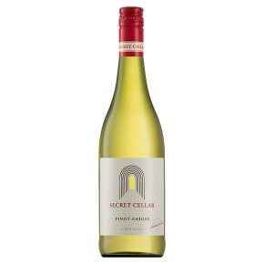 Secret Cellar, Pinot Grigio, South African, White Wine