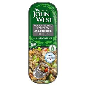John West Wood Smoked Irish Peppered Mackerel