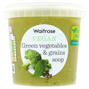 Waitrose Vegan Green Vegetables & Grains
