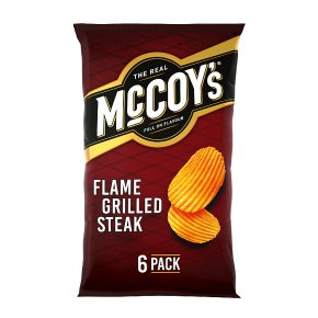 McCoy's Ridge Cut Crisp Flame Grilled Steak