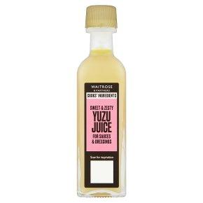 Waitrose Cooks' Ingredients yuzu juice