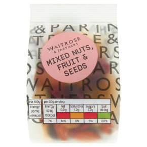 Waitrose Mixed Nuts, Fruit & Seeds