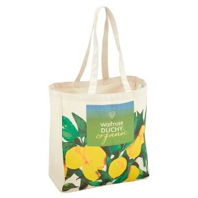 Waitrose Duchy Cotton Lemon Bag