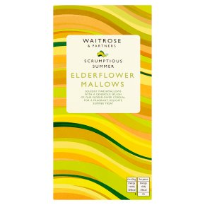 Waitrose Elderflower Mallows