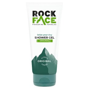 Rock Face shower wash