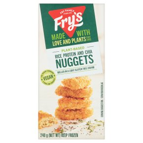 Fry's Meat Free Rice & Chia Nuggets