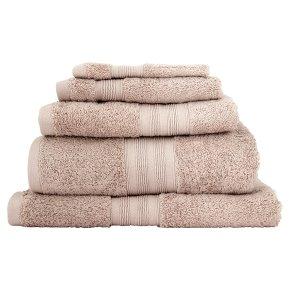 Waitrose Egyptian cotton bath sheet flint