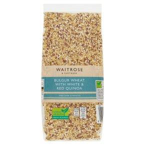Waitrose LOVE life Bulgur Wheat with White & Red Quinoa
